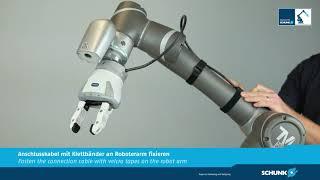 Inbetriebnahme des SCHUNK EGH am TM Robot