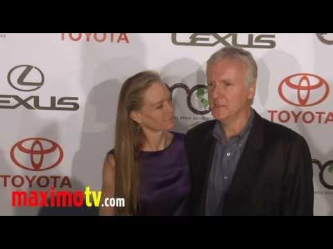 JAMES CAMERON & SUZY AMIS at 2010 EMA Awards Arrivals