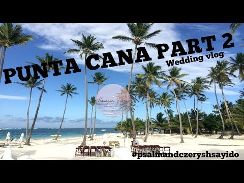 Punta Cana Part 2: Wedding At Jellyfish Restaurant #psalmandczeryshsayido