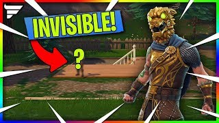 How to become Invisible Glitch in Fortnite season 9