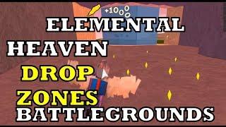 Elemental Battlegrounds Game Pass Heaven (NEW MAP of DROP ZONES!)