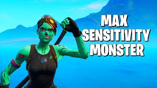 Edit Mode Sensitivity/Edit Aim Assist Turned Me Into This... **Fortnite Solo Record**