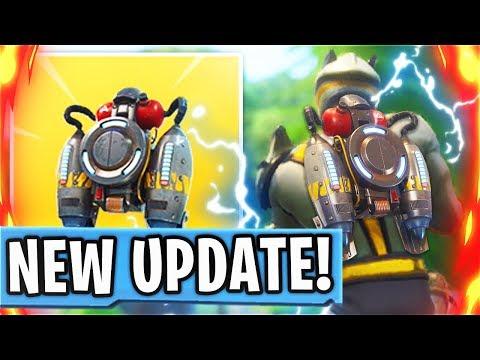 New LEGENDARY JETPACK In Fortnite Battle Royale! New JETPACK Update In Fortnite! (Fortnite Update)