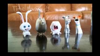 The Secret Life of Pets Toys in Action- Review