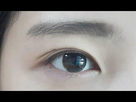 렌즈 끼는법 /렌즈 빼는법/ 10대