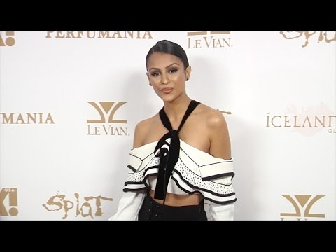 Nazanin Mandi OK! Magazine's 2016 Grammy Event Red Carpet in Los Angeles
