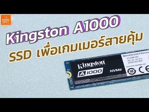 Kingston A1000 M.2 NVMe SSD ใหม่ เพื่อเกมเมอร์สายคุ้ม เร็ว แรงด้วย 3D NAND