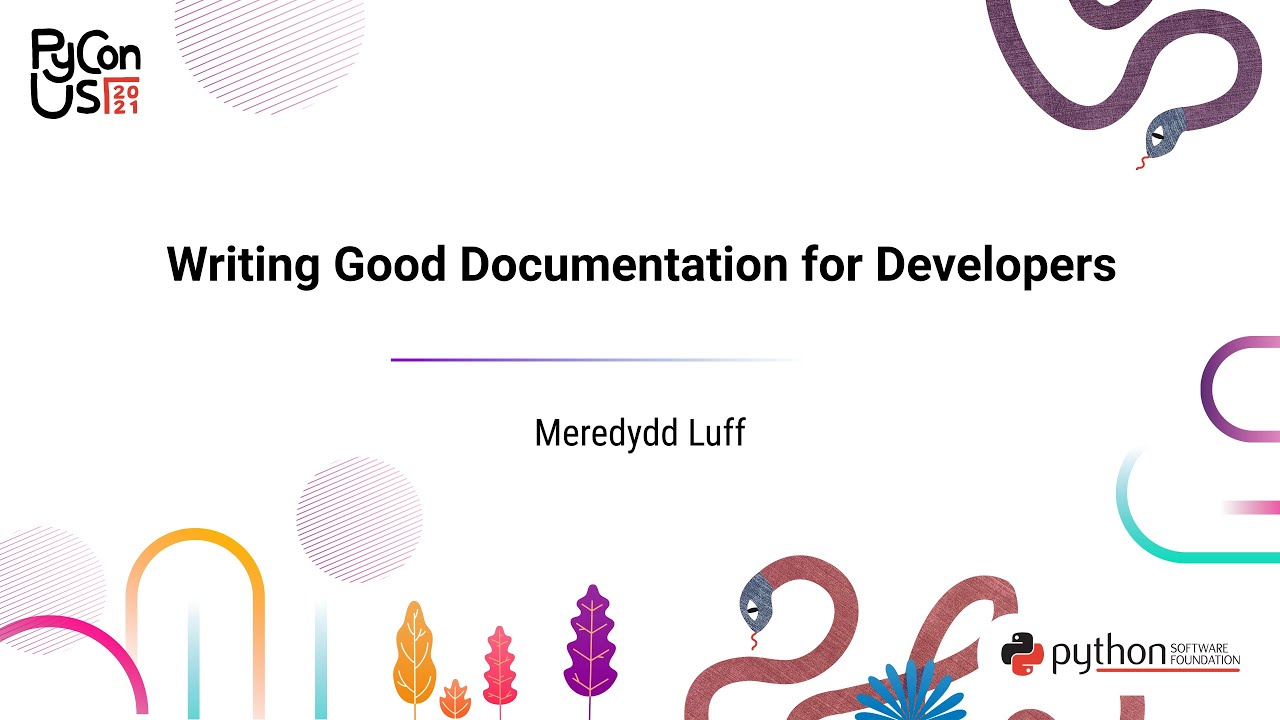 Image from Writing Good Documentation for Developers