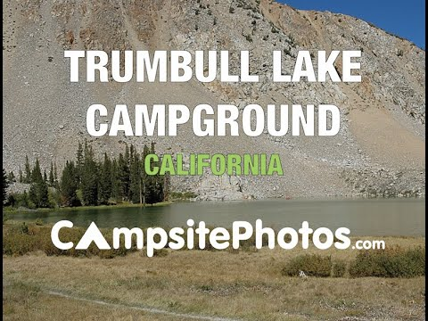 Trumbull Lake Campground, Humboldt-Toiyabe National Forest, California  Campsite Photos