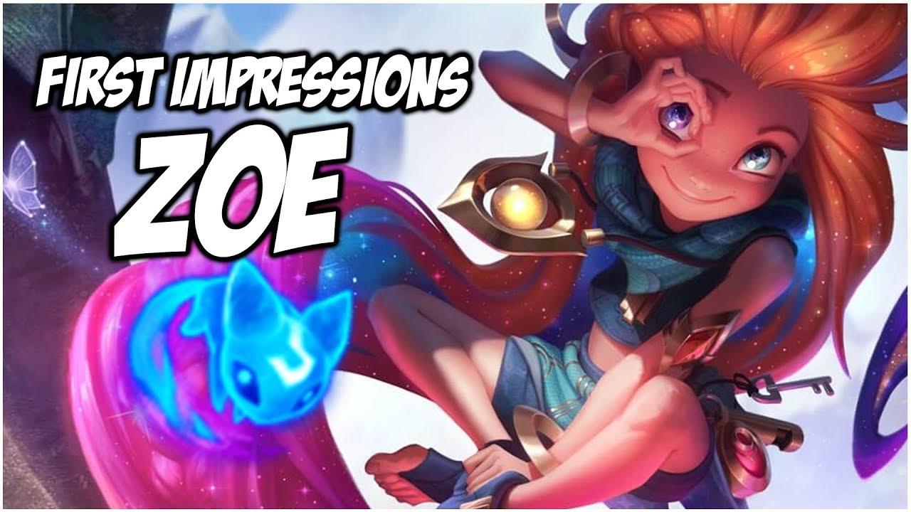 Zoe New Champion