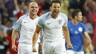 Soccer Aid:Mark Wright Free Kick Goal!!