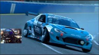 HARDEST Car To Drift! 1100HP BRZ vs Fanatec Wheel! GT Sport
