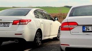 Karşılaştırma - Skoda Superb vs Renault Latitude