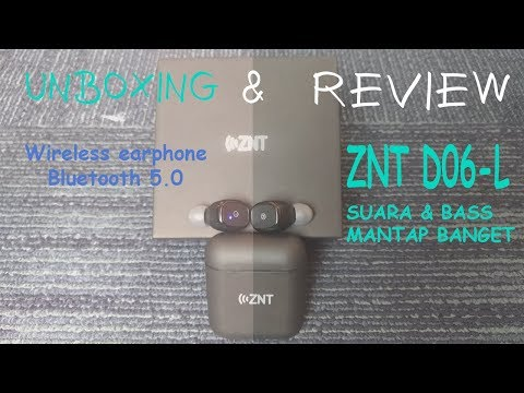 Unboxing & Review ZNT DO6-L Earphone Bluetooth