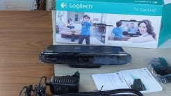 Logitech TV Cam HD Unboxing