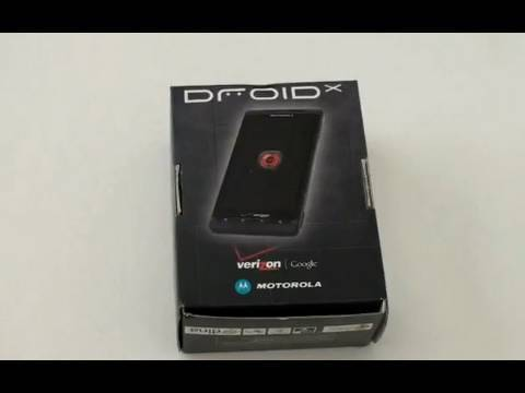 Droid X Unboxing
