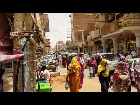 Sudan Omdurman market stroll