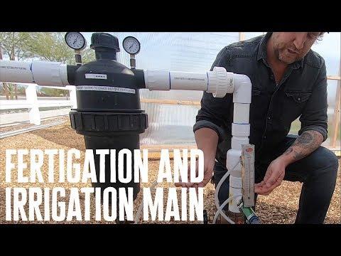 The Fertigation System At Steadfast Farm