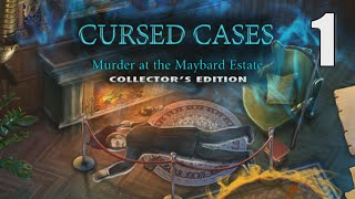 Cursed Cases: Murder at the Maybard Estate CE [01] w/YourGibs, Wardfire - OPENING - Part 1 #WardGibs