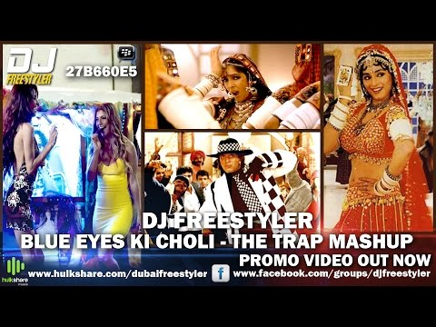 Khalnayak | Sanjay Dutt | DJ Freestyler - Blue Eyes Ki Choli | The Trap Mashup
