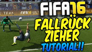 FIFA 16 FALLRÜCKZIEHER SCHUSS TUTORIAL (DEUTSCH) - [XBOX,PS,PC] - ULTIMATE TEAM DEUTSCH