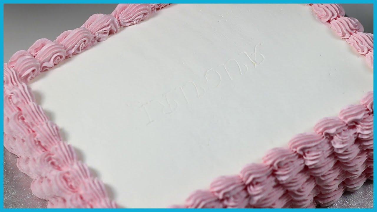 Come Ricoprire Una Torta Con La Panna Montata Torte Italiane Youtube