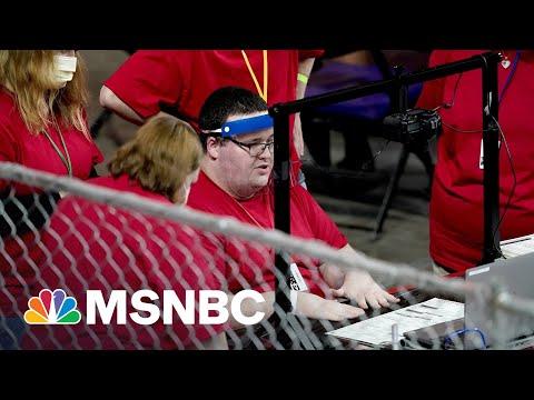 Amateur Pro-Trump 'Auditors' Tainted Election Machine Security In AZ