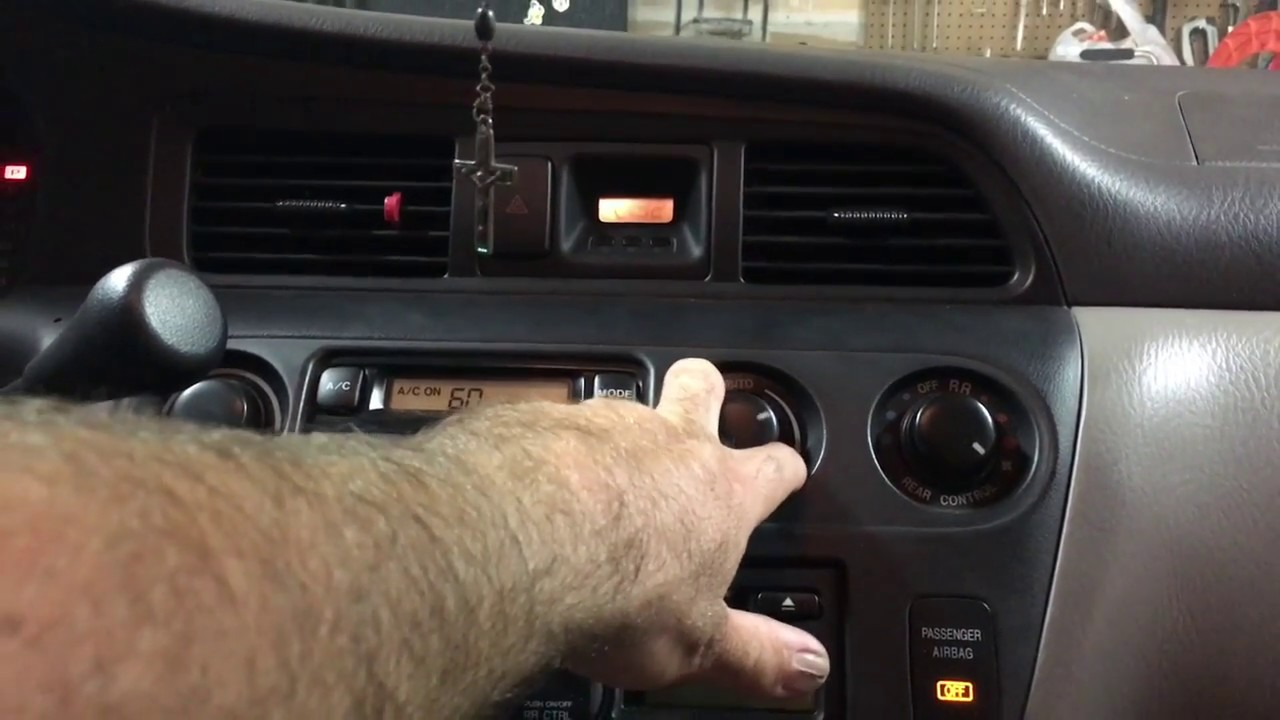Fuse Box On Honda Accord 2003 Wiring Diagram Will Be A Thing 2004 Odyssey Ac Repair Youtube Element 96