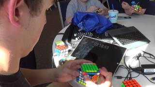 2x2 - 7x7 Rubik's Cube World Record - 6:13.81