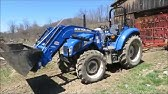 The first New Holland service problems - YouTube
