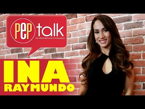 Ina Raymundo on PEPtalk. On being FHM cover girl