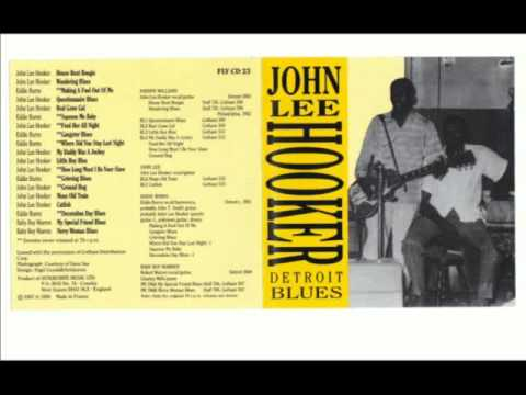 John Lee Hooker - Detroit Blues - 1950-51 - Full Album