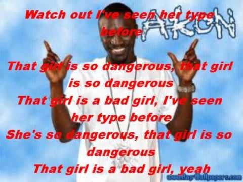 Dangerous lyrics by Akon