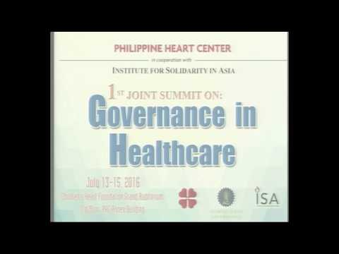 Governance in Healthcare - 1st Joint Summit @ PHC