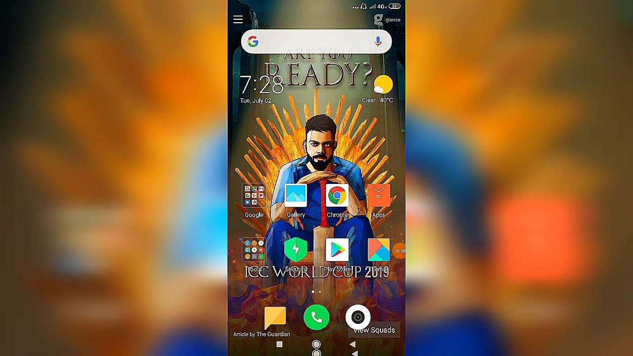 How to remove lock screen wallpaper in xiaomi redmi phones 100% working