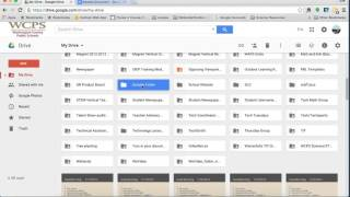 Organizing Files in Google Docs