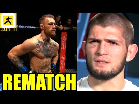 If Conor McGregor wins his next fight he might get a rematch with Khabib,Tyron Woodley