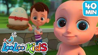 Humpty Dumpty + More Nursery Rhymes from LooLoo KIDS