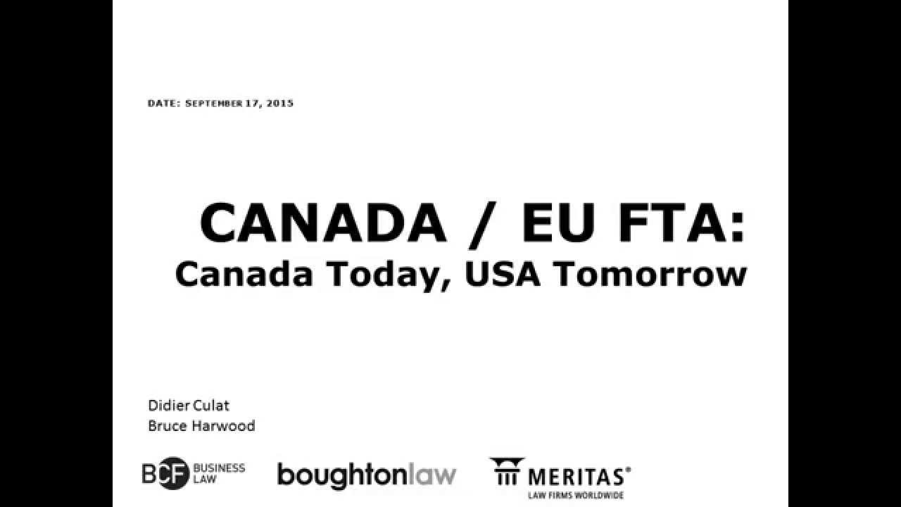 How Businesses Can Benefit From The New Canada Eu Free Trade