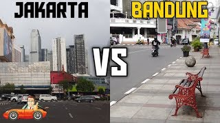 Jakarta Vs Bandung   City Comparison Infrastructure 2020 | Ep20