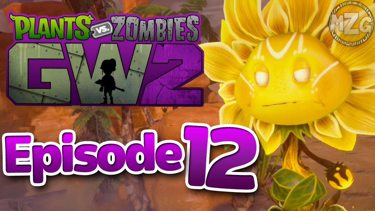 Sunflower Queen Boss Plants Vs Zombies Garden Warfare 2 Play Episode 12 You