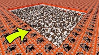 Minecraft - 1000 Vacas VS 50,000+ de TNT - Rabahrex