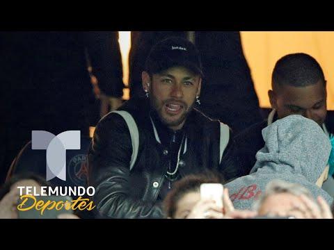 Neymar enfurece contra el VAR en la jugada que dejó sin Champions al PSG | Telemundo Deportes