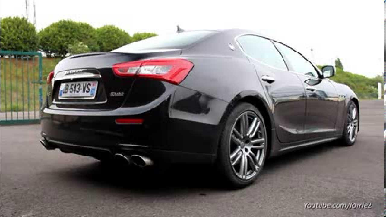 Maserati Ghibli S Q4 >> Maserati Ghibli S Q4 3.0 V6 Biturbo Revving! - YouTube