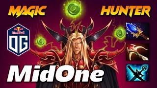 MidOne Invoker - MAGIC HUNTER - Dota 2 Pro Gameplay [Watch & Learn]