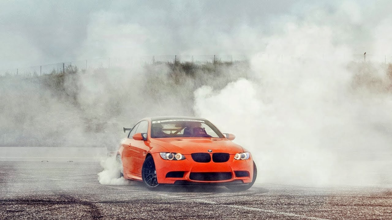 BMW 335 Burnout Compilation HD!! - YouTube