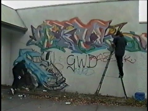 Old Skool Adelaide Graf - RIP Peter