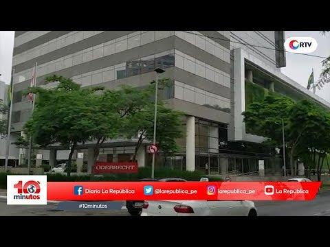 Odebrecht: Continúan interrogatorios en Brasil - 10 minutos Edición Tarde