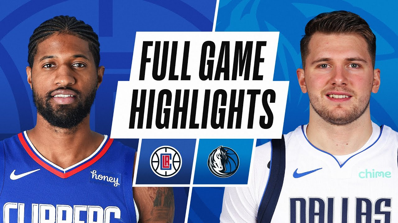 CLIPPERS at MAVERICKS | FULL GAME HIGHLIGHTS | March 17, 2021
