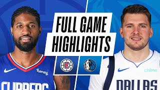 ... led by luka doncic's 42 pts, 6 reb and 9 ast, the dallas mavericks defeated la clippers, 105...